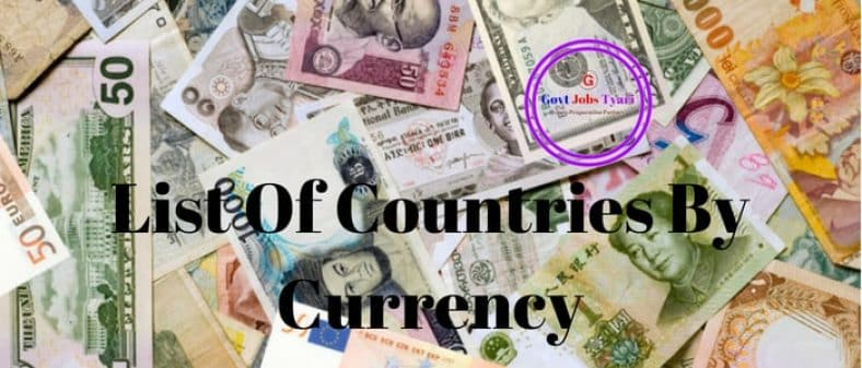 List of Currency Symbols With Country Name | World Currencies