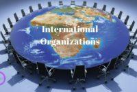 List of International Organizations,International Organizations And Their Headquarters,International Organizations