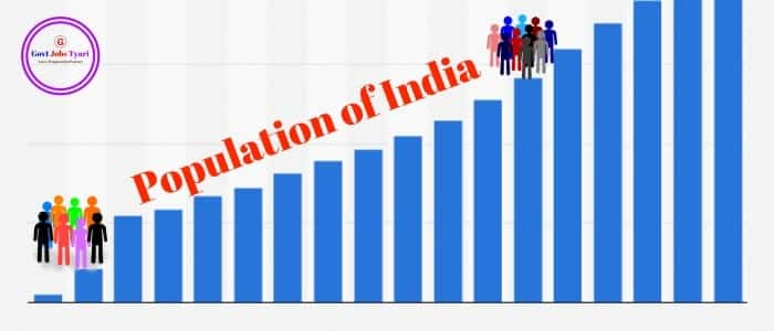 Population of india,