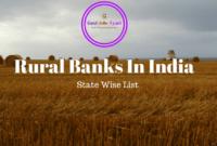 Regional Rural Banks,Regional rural banks in india,List of Regional Rural Banks,