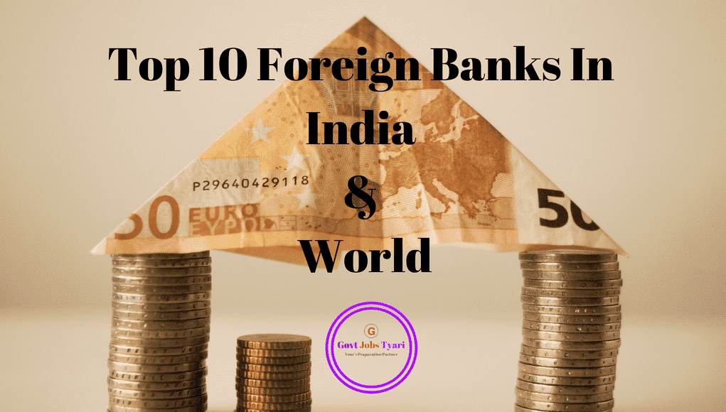 List Of Top 10 Foreign Banks In India 2018 International World