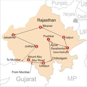 Airports in Rajasthan