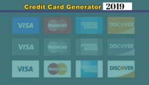 Credit Card Generator 2019