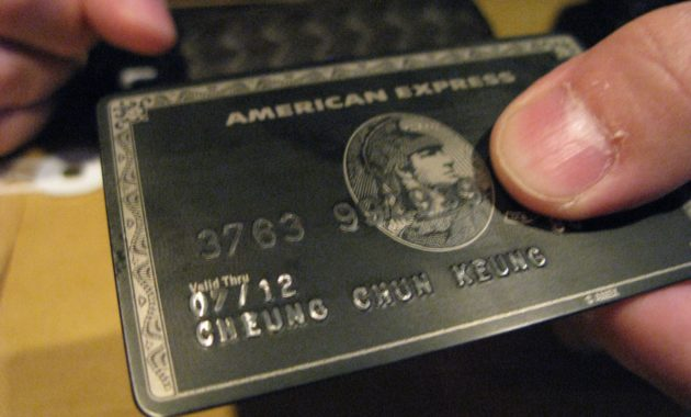American Express Card Number Format