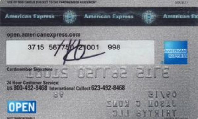 What is American Express Card Security Number
